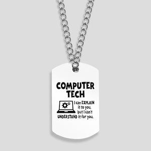 COMPUTER TECH Dog Tags