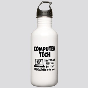 COMPUTER TECH Stainless Water Bottle 1.0L