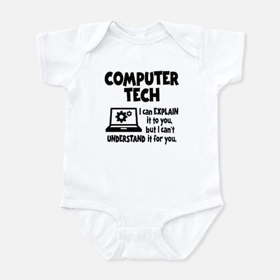 COMPUTER TECH Infant Bodysuit