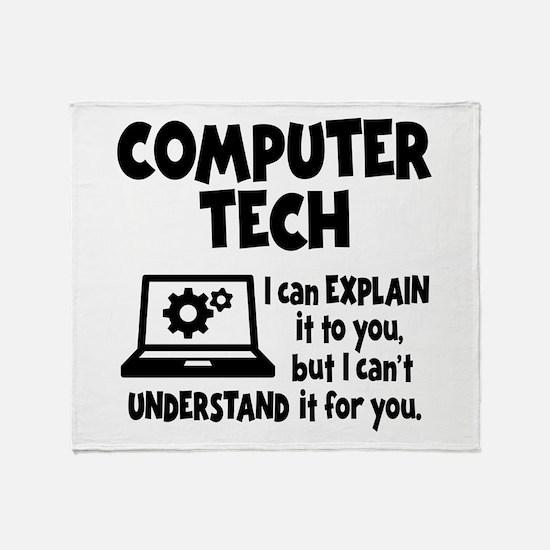 COMPUTER TECH Throw Blanket