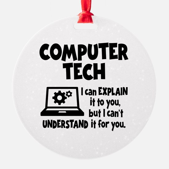 COMPUTER TECH Ornament