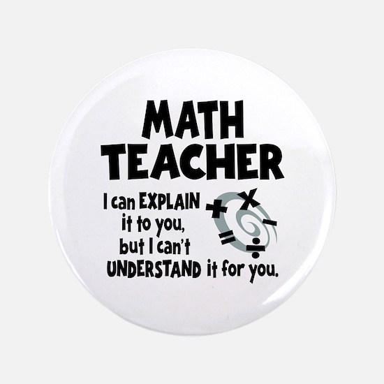 MATH TEACHER Button