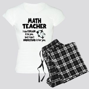 MATH TEACHER Women's Light Pajamas