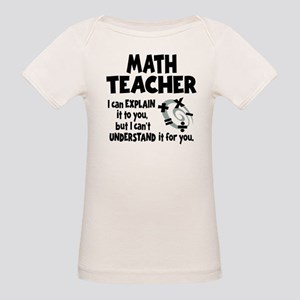 MATH TEACHER Organic Baby T-Shirt