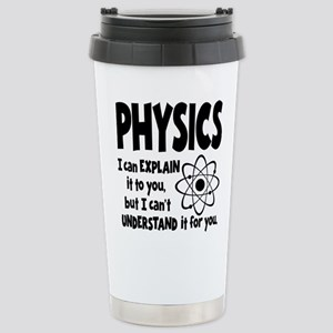 PHYSICS Stainless Steel Travel Mug