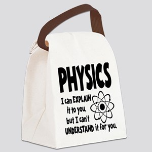 PHYSICS Canvas Lunch Bag