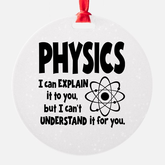 PHYSICS Ornament
