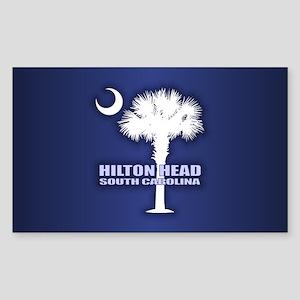 Hilton Head Sticker (Rectangle)