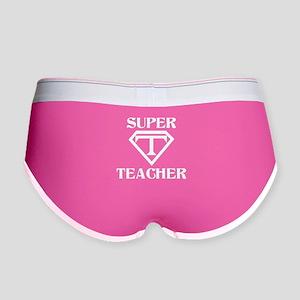 Super Teacher Women's Boy Brief