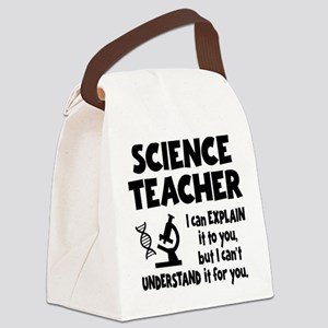 SCIENCE TEACHER Canvas Lunch Bag