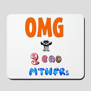 Two Bad MTHFRs Mousepad