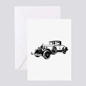 Series E Coupe Greeting Cards