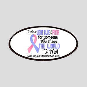 Male Breast Cancer MeansWorldToMe2 Patch