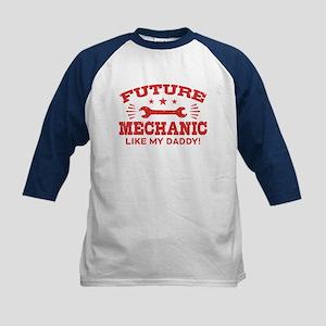 Future Mechanic Kids Baseball Jersey