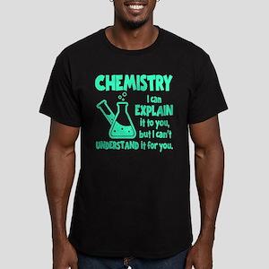 CHEMISTRY Men's Fitted T-Shirt (dark)