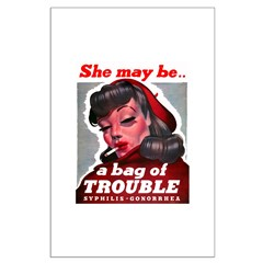 No Bad Evil Women Posters