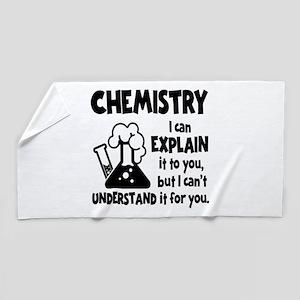 CHEMISTRY Beach Towel