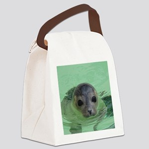 sweet SEAL Canvas Lunch Bag