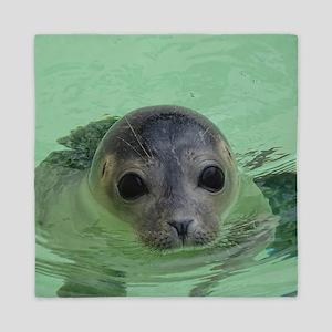 sweet SEAL Queen Duvet