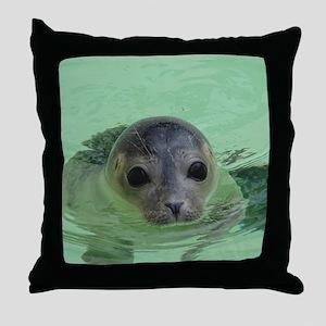 sweet SEAL Throw Pillow