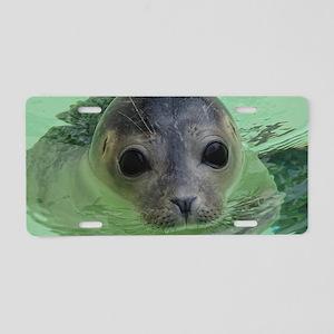 sweet SEAL Aluminum License Plate