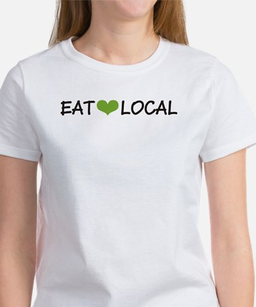Eat Local Women's T-Shirt