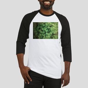 Marajuana Weed Pot Baseball Jersey