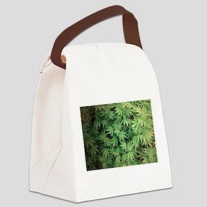 Marajuana Weed Pot Canvas Lunch Bag
