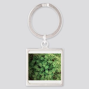 Marajuana Weed Pot Keychains