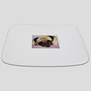 Pug Puppy Bathmat