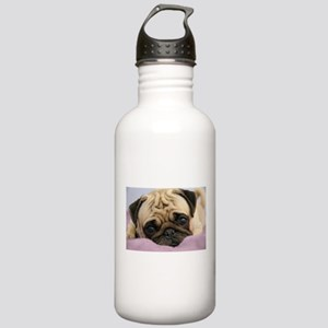 Pug Puppy Stainless Water Bottle 1.0L