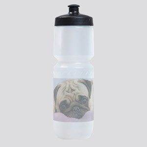 Pug Puppy Sports Bottle
