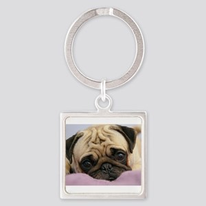 Pug Puppy Keychains