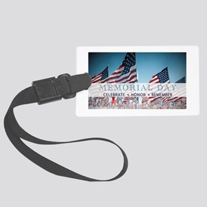Memorial Day Large Luggage Tag