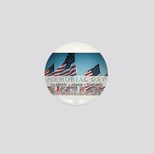 Memorial Day Mini Button