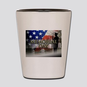 Memorial Day Shot Glass