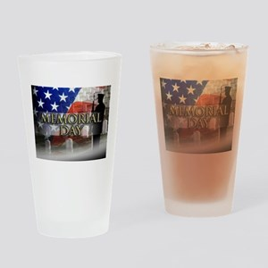 Memorial Day Drinking Glass