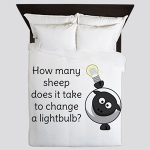 How Many Sheep Does It Take Queen Duvet