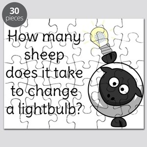 How Many Sheep Does It Take Puzzle