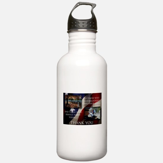 Memorial Day Water Bottle