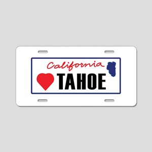 Love Lake Tahoe Aluminum License Plate