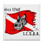 Sea Wolf Tile Coaster