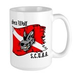 SEA WOLF Large Mug