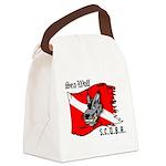 SEA WOLF Canvas Lunch Bag