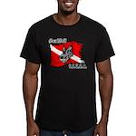 SEA WOLF Men's Fitted T-Shirt (dark)