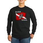 SEA WOLF Long Sleeve Dark T-Shirt