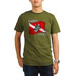 SEA WOLF Organic Men's T-Shirt (dark)
