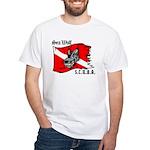 SEA WOLF White T-Shirt