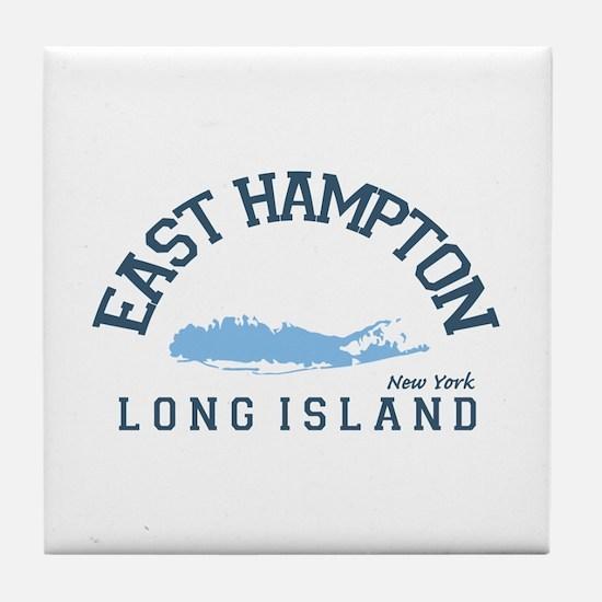 East Hampton - New York. Tile Coaster