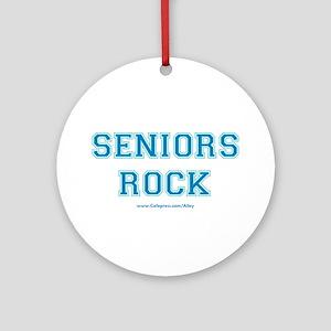Seniors Rock Ornament (Round)